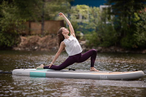 Yoga and Paddle Board in Quebec