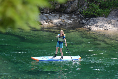 Stand Up Paddle Board in Gaspesie