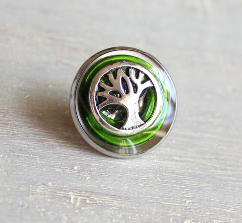 Tree of life tie tack / lapel pin - available in additional colors