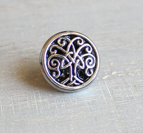Celtic tree of life tie tack / lapel pin - available in additional colors