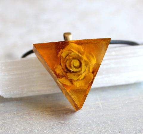 Hidden rose necklaces