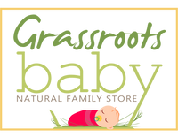 Grassroots baby logo   natural family store