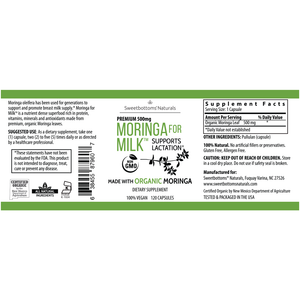 Sweetbottoms Naturals - Moringa for Milk