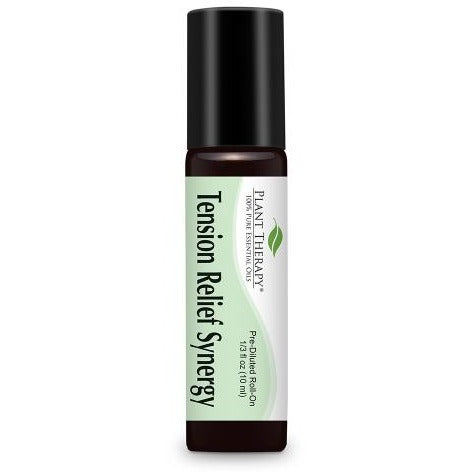 Plant Therapy - Tension Relief Synergy Essential Oil Roll On - Grassroots Baby