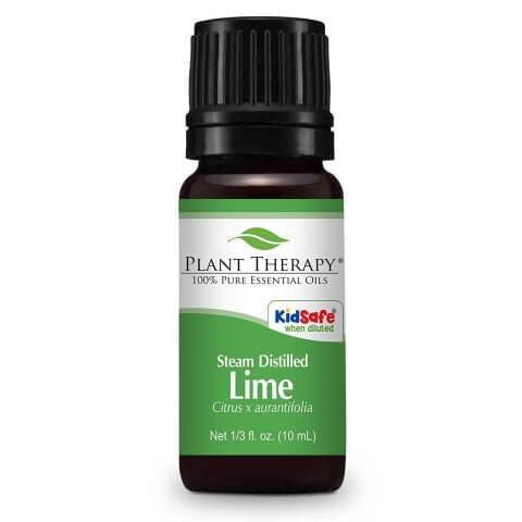Plant Therapy - Lime Steam Distilled KidSafe Essential Oil 10 mL - Grassroots Baby