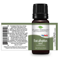 Plant Therapy - Eucalyptus Dives Essential Oil 10mL - Grassroots Baby