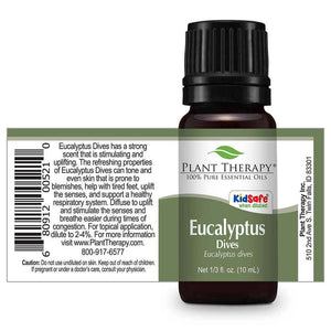 Plant Therapy - Eucalyptus Dives Essential Oil 10mL