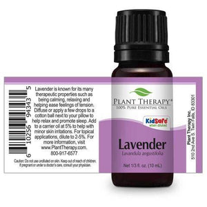 Plant Therapy - Lavender Essential Oil 10 mL - Grassroots Baby
