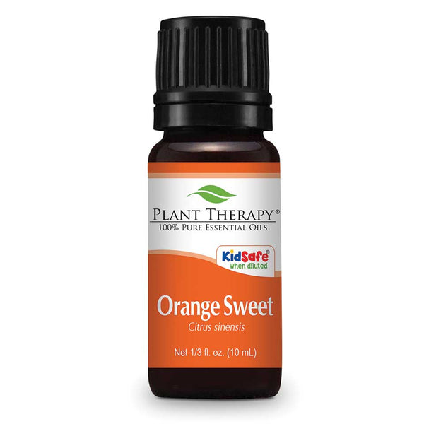 Plant Therapy - Sweet Orange-Plant Therapy-10ml Undiluted Bottle-Grassroots Baby