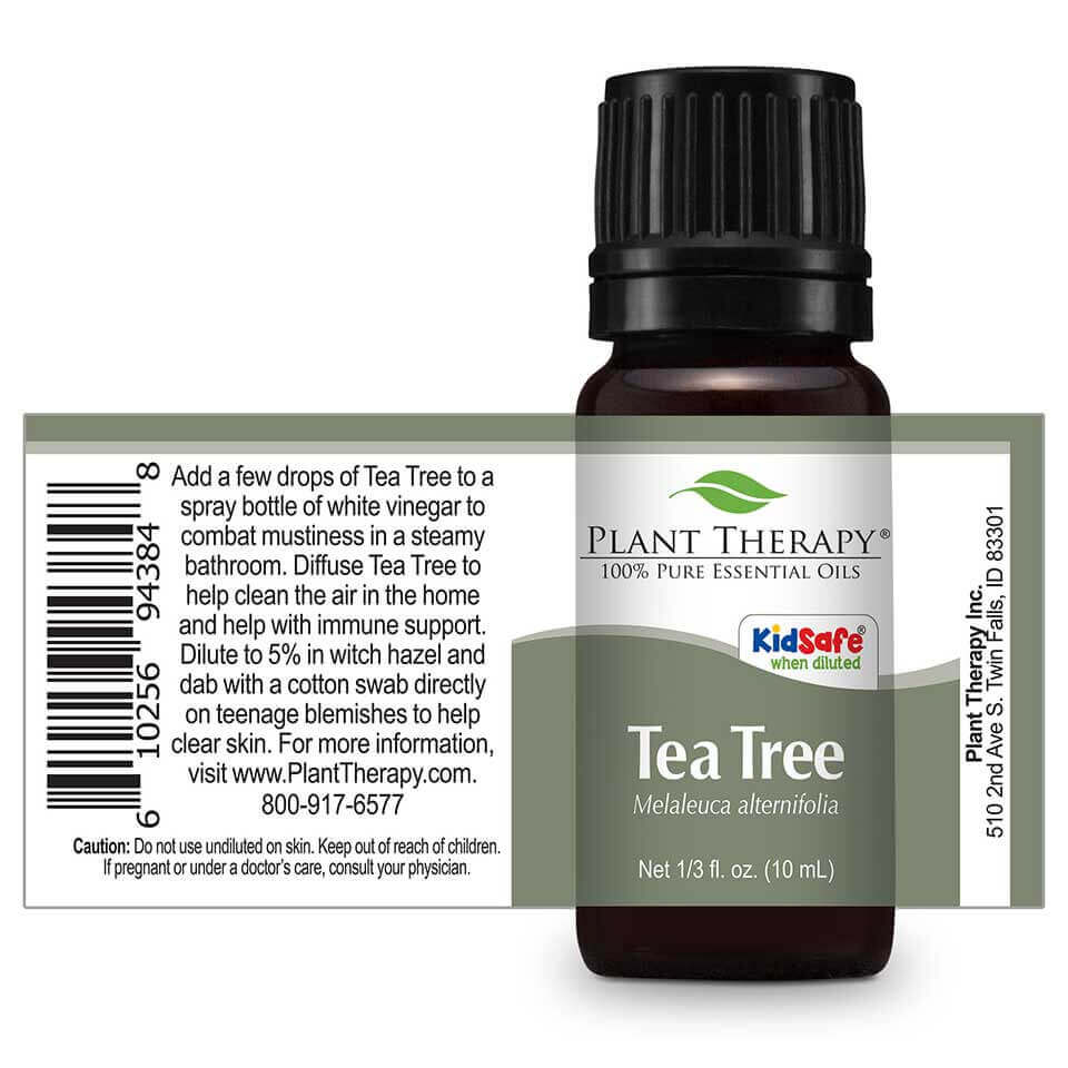 Plant Therapy - Tea Tree Essential Oil 10 mL