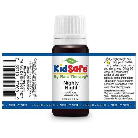 Plant Therapy - Nighty Night KidSafe Essential Oil Blend - Grassroots Baby
