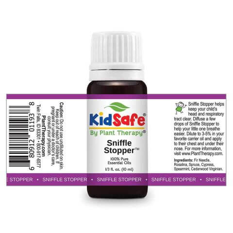 Plant Therapy - Sniffle Stopper KidSafe Essential Oil Blend - Grassroots Baby