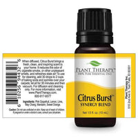 Plant Therapy - Citrus Burst Synergy Essential Oil 10mL - Grassroots Baby