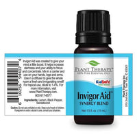 Plant Therapy - Invigor Aid Blend-Plant Therapy-10ml Undiluted Bottle-Grassroots Baby