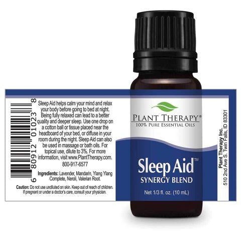 Plant Therapy - Sleep Aid Synergy Essential Oil 10 mL - Grassroots Baby