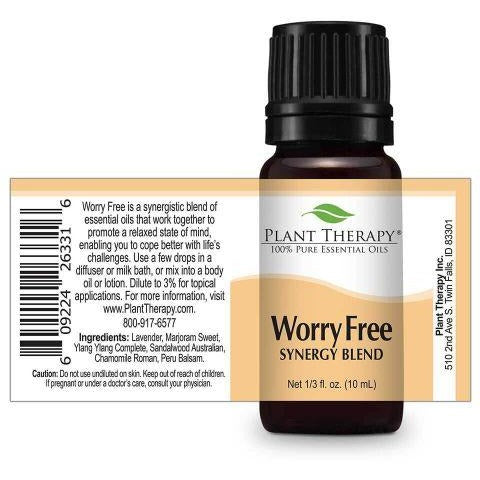 Plant Therapy - Worry Free Essential Oil Blend - Grassroots Baby