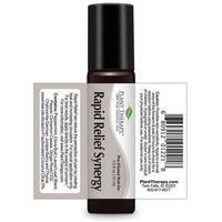 Plant Therapy - Rapid Relief Synergy Essential Oil 10 mL Pre-Diluted Roll-On - Grassroots Baby