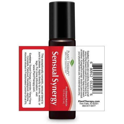 Plant Therapy - Sensual Synergy Essential Oil 10 mL Pre-Diluted Roll-On - Grassroots Baby
