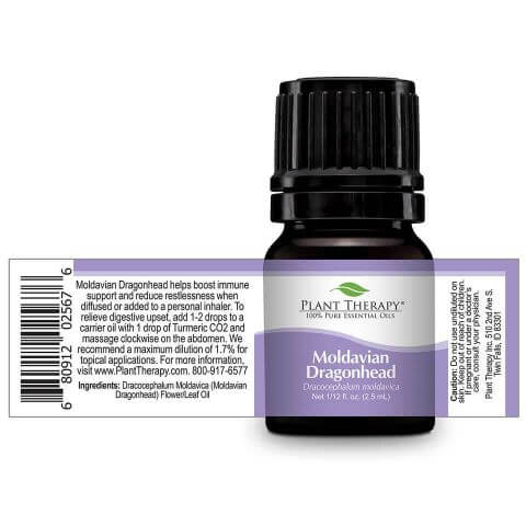 Plant Therapy - Moldavian Dragonhead-Plant Therapy-2.5ml Undiluted Bottle-Grassroots Baby