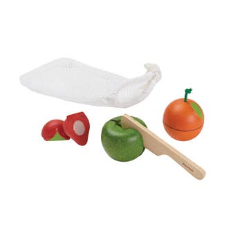 PlanToys - 3 Piece Fruit Set