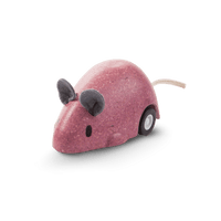 PlanToys - Moving Mouse-PlanToys-Pink-Grassroots Baby