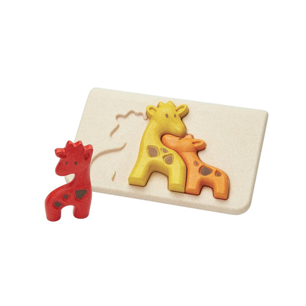 PlanToys - Giraffe Puzzle - Grassroots Baby