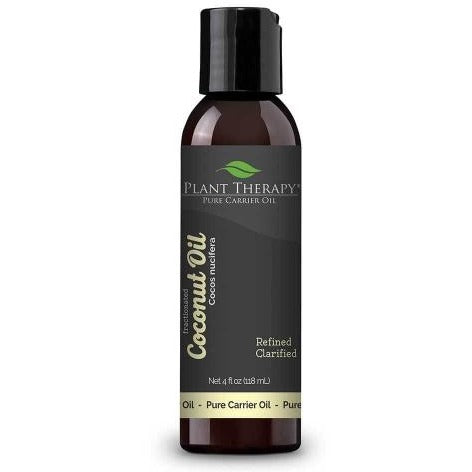Plant Therapy - Coconut (Fractionated) Carrier Oil 4 oz - Grassroots Baby