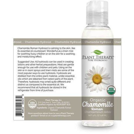 Plant Therapy - Chamomile Roman Organic Hydrosol (4 oz) - Grassroots Baby