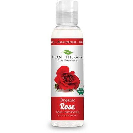 Plant Therapy - Rose Organic Hydrosol (4 oz) - Grassroots Baby