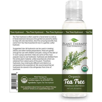 Plant Therapy - Tea Tree Organic Hydrosol (4 oz)
