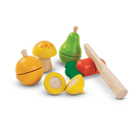 PlanToys - Fruit & Vegetable Play Set-PlanToys-Grassroots Baby