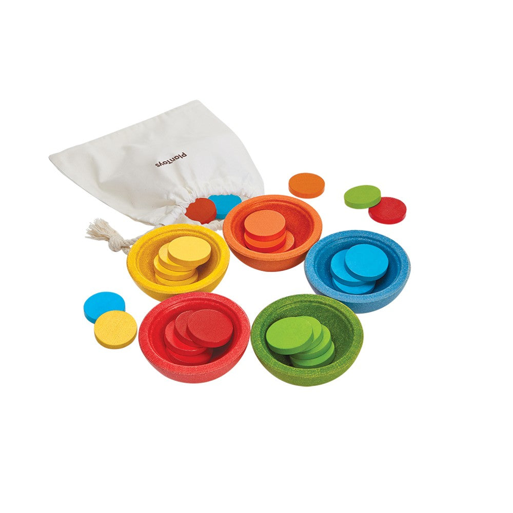 PlanToys - Sort & Count Cups