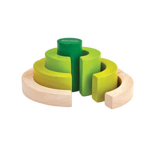 PlanToys - Curve Blocks* - Grassroots Baby