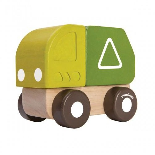 PlanToys - Mini Garbage Truck - Grassroots Baby