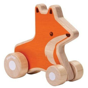 PlanToys - Fox Wheelie - Grassroots Baby