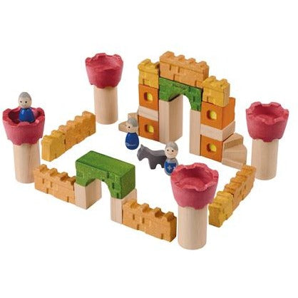 PlanToys - Castle Blocks - Grassroots Baby