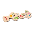 PlanToys - Braille Numbers 1-10
