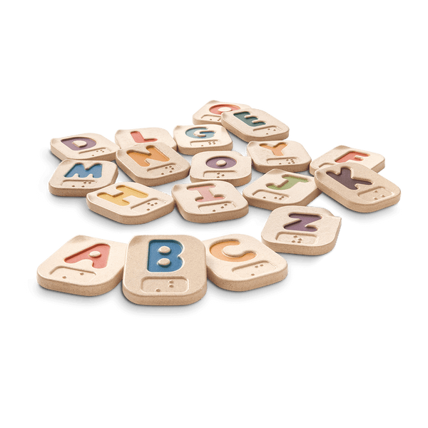 PlanToys - Braille Alphabet A-Z