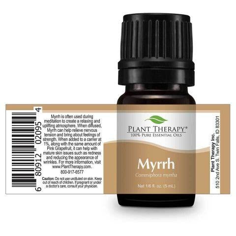 Plant Therapy - Myrrh Essential Oil 5 mL - Grassroots Baby