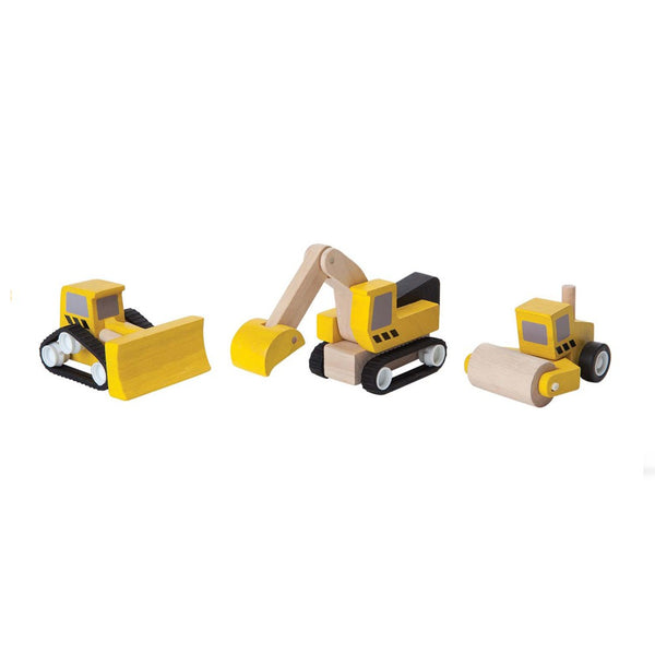 PlanToys - Road Construction Set - Grassroots Baby