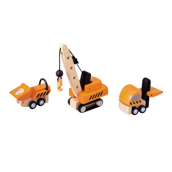 PlanToys - Construction Vehicles-PlanToys-Grassroots Baby