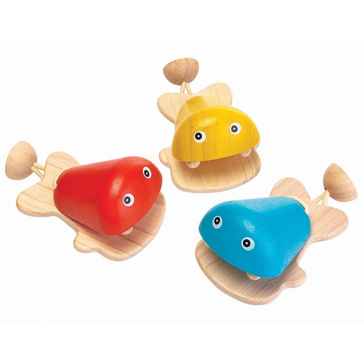 PlanToys - Fish Castanet - Grassroots Baby