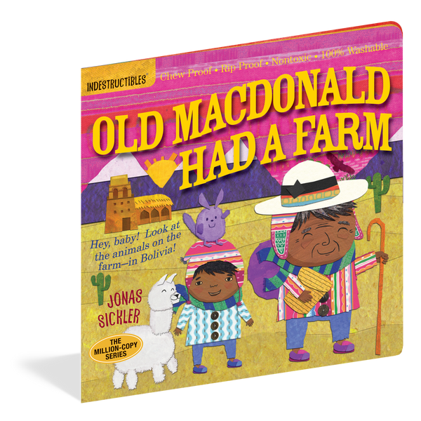 Indestructibles - Old MacDonald Had a Farm - Grassroots Baby