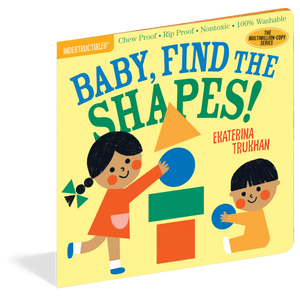 Indestructibles - Baby, Find the Shapes! - Grassroots Baby