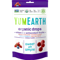 YumEarth - Organic Hard Candies (Vitamin C Antioxidant Fruits)-YumEarth-Grassroots Baby