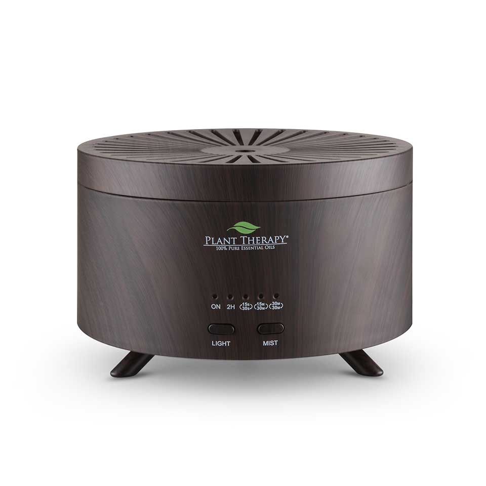 Plant Therapy - AromaFuse Diffuser (Brown Wood Grain)