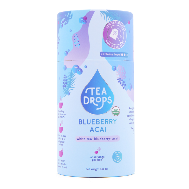 Tea Drops - Blueberry Acai White Tea - Grassroots Baby