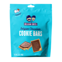 Belgian Boys - Belgian Chocolate Cookie Bars