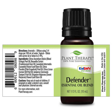 Plant Therapy - Defender KidSafe Essential Oil Blend