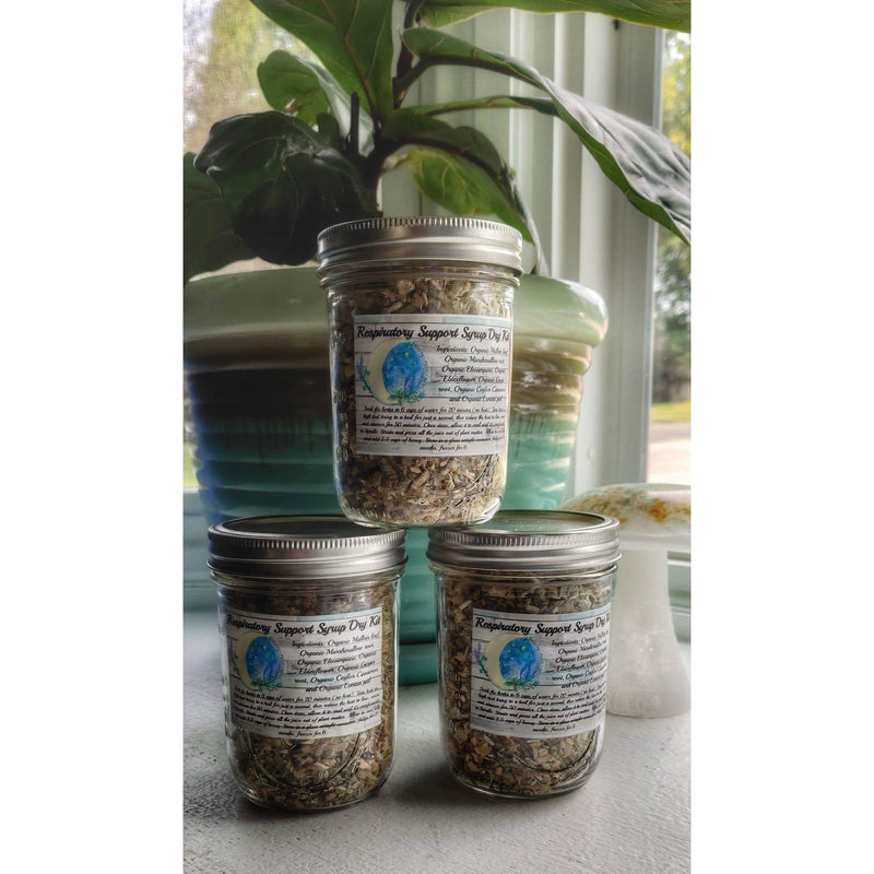 Blessing Moon Herbs - Respiratory Support Syrup Dry Kit - Grassroots Baby